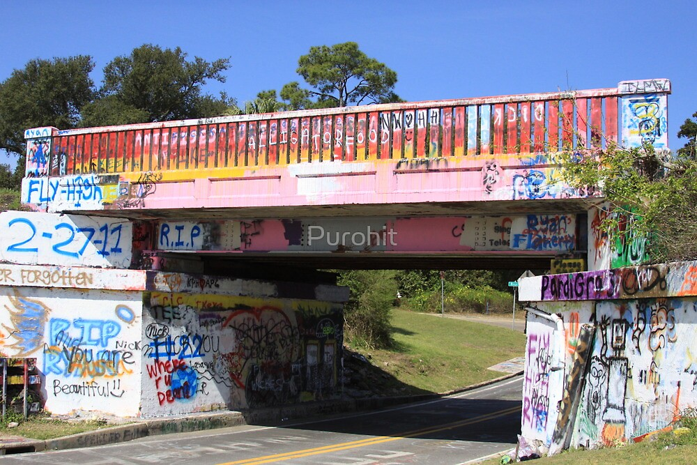 Graffiti Bridge by Purohit