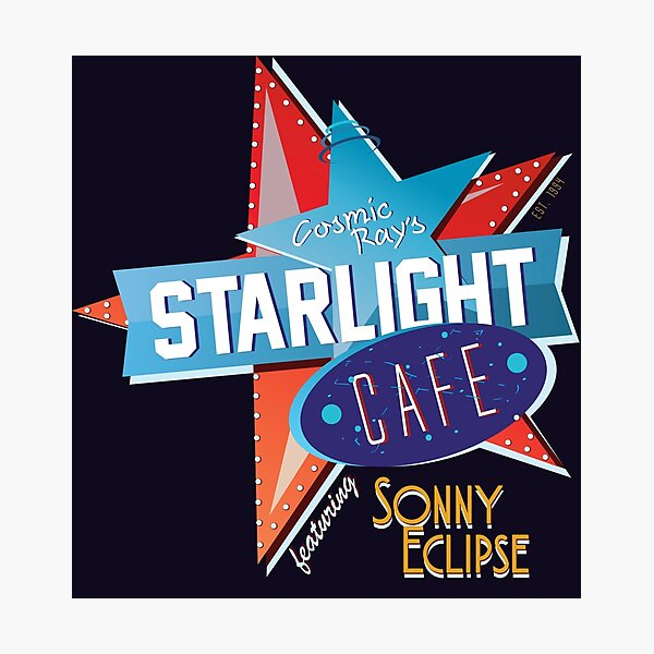 Cosmic Ray's // Sonny Eclipse Photographic Print