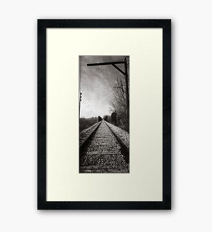 Last Tell-Tale Framed Print