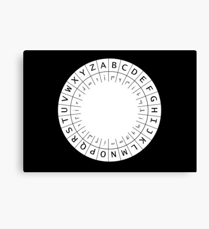 The One (Decoder) Ring Canvas Print