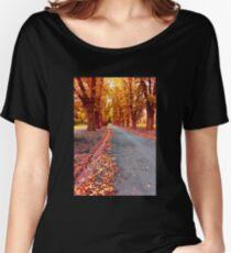 Autumn, Fitzroy Gardens Women's Relaxed Fit T-Shirt