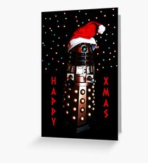 Happy Christmas Dalek Christmas Card Cards Greeting Card