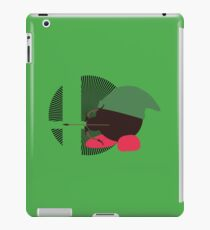 Link (Kirby Hat) - Sunset Shores iPad Case/Skin