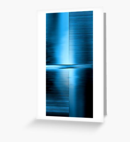 Shimmering Blue Greeting Card
