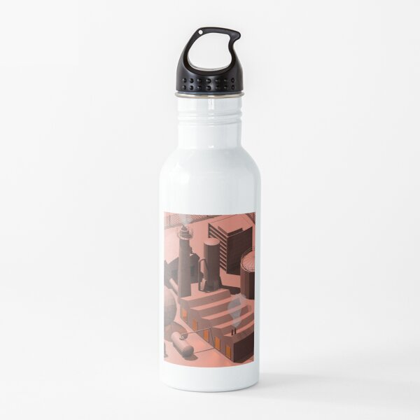 Low Poly Industry Water Bottle