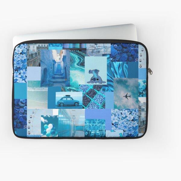 Blue aesthetic  Laptop Sleeve