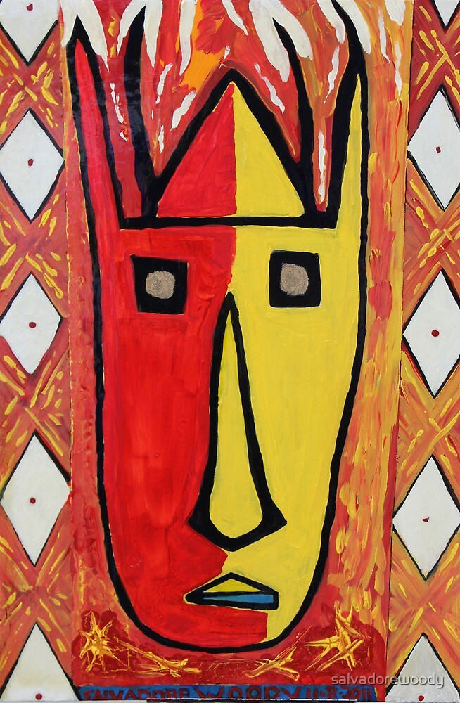 African art  by salvadorewoody