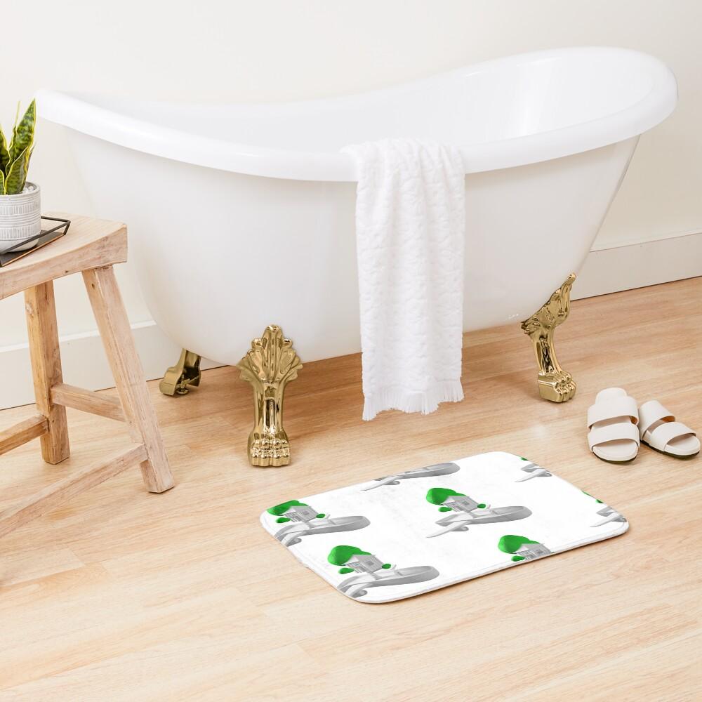 Tree House Boat Bath Mat