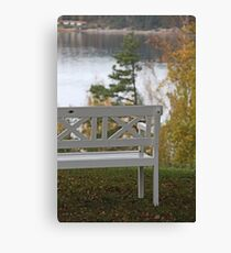 Villa Sjotorp view Canvas Print