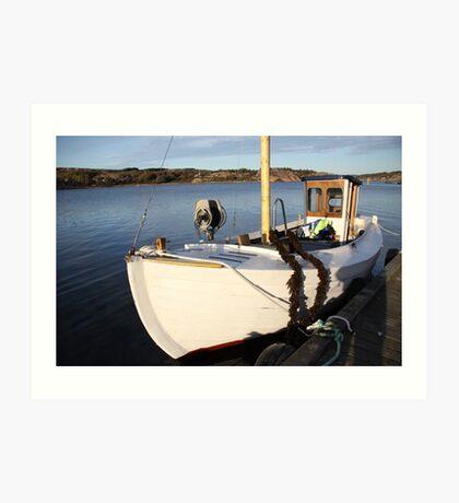 Boat, West Sweden Art Print