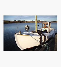 Boat, West Sweden Photographic Print