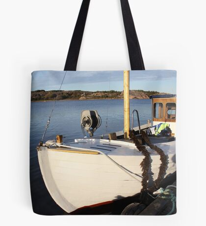 Boat, West Sweden Tote Bag