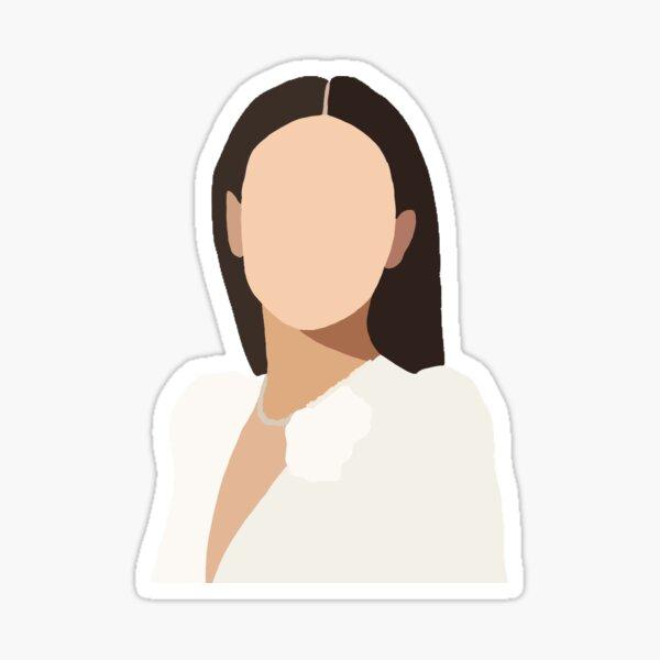 Millie Bobby Brown Glossy Sticker