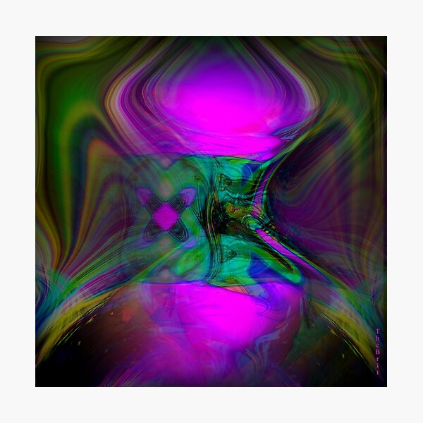 ...   Dreaming  within  the  Colors  of  Love  and  Hope    ...    Photographic Print