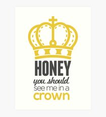 You Should See Me In A Crown - Moriarty Sherlock Art Print