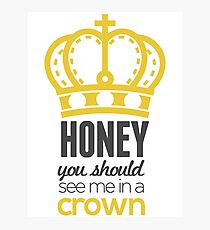 You Should See Me In A Crown - Moriarty Sherlock Photographic Print