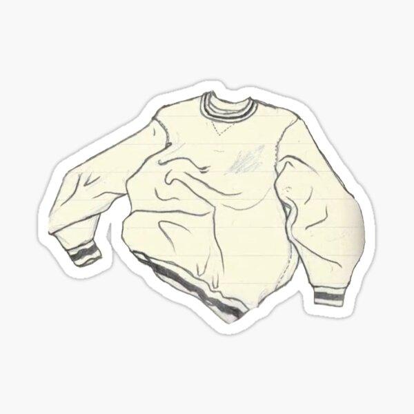 heather sweater, kid krow, conan gray Sticker