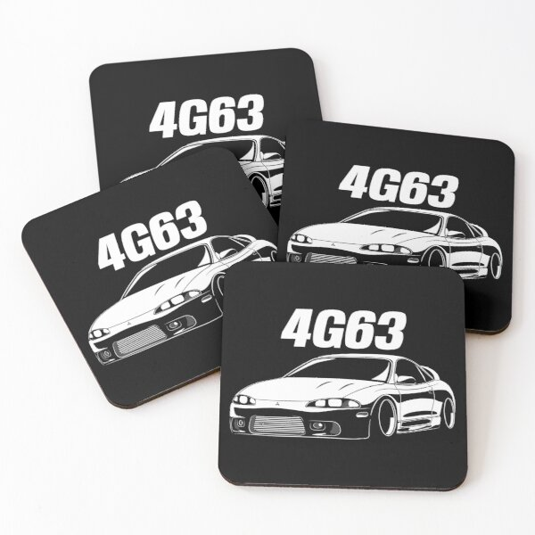 4G63 Eclipse Coasters (Set of 4)