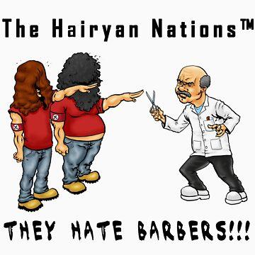 The Hairyan Nations by Exklansman