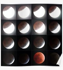 Lunar Eclipse 10th December, 2011 Poster