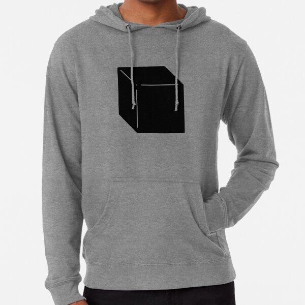 Shapes Cube - Minimalistic Vector Art Lightweight Hoodie