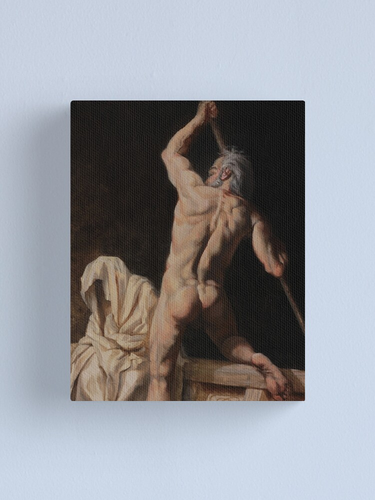 Alternate view of Charon the Ferryman Canvas Print