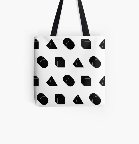 Shapes All Over Print Tote Bag