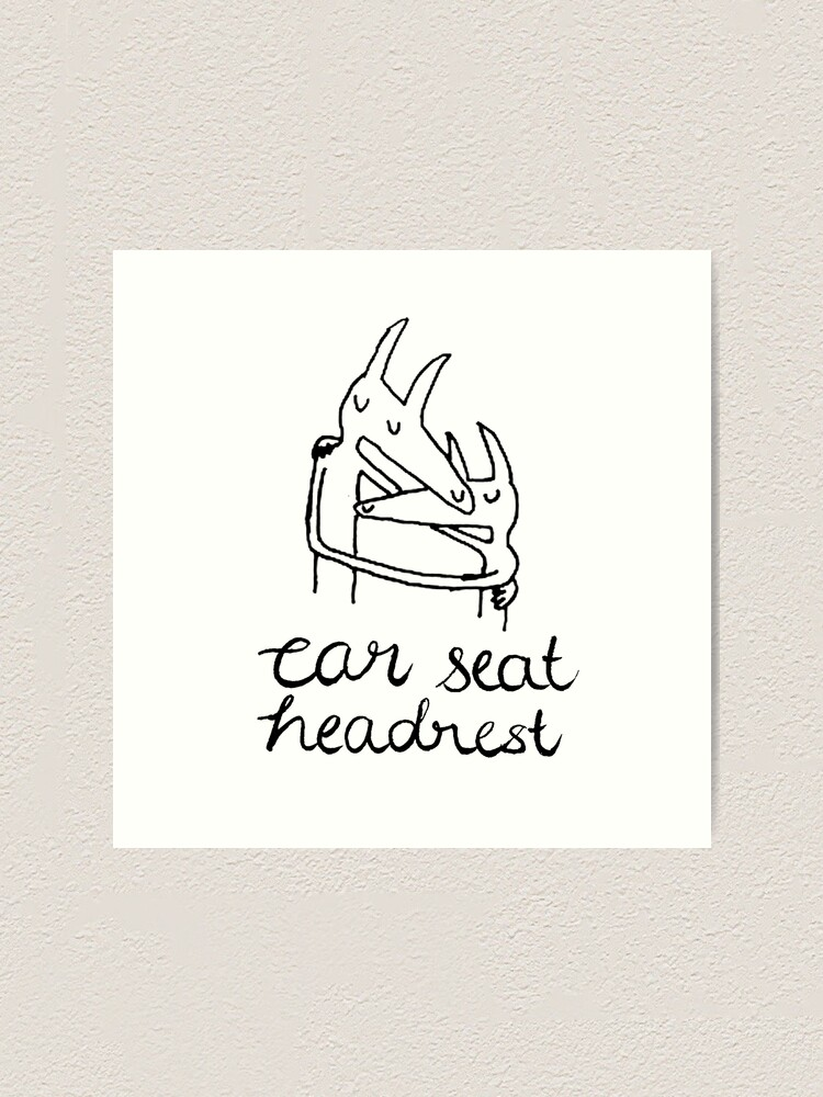 Car Seat Headrest Twin Fantasy Art Print By Leajoannac Redbubble