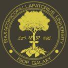 Raxacoricofallapatorious University-Yellow by charliebuterfly