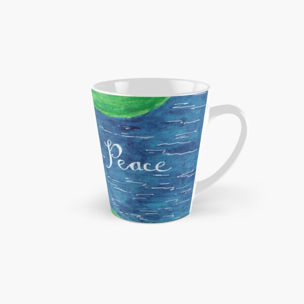 Blue Lotus - Peace Tall Mug