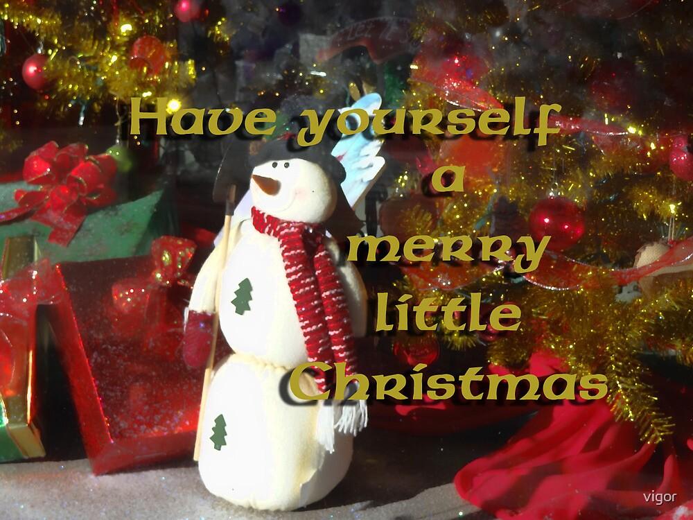 Christmas card by vigor