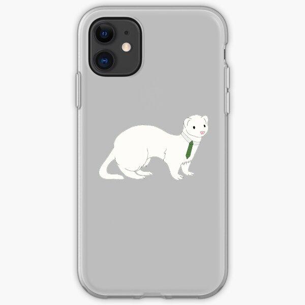 Draco Malfoy as a ferret iPhone Soft Case