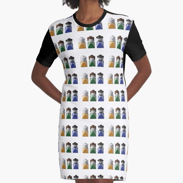 Lego Duplo Family Graphic T-Shirt Dress