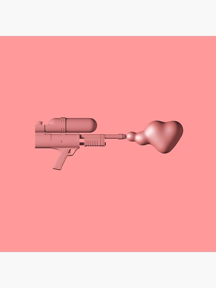 Bubble Gum Gun - Make Love Not War by rickardarvius
