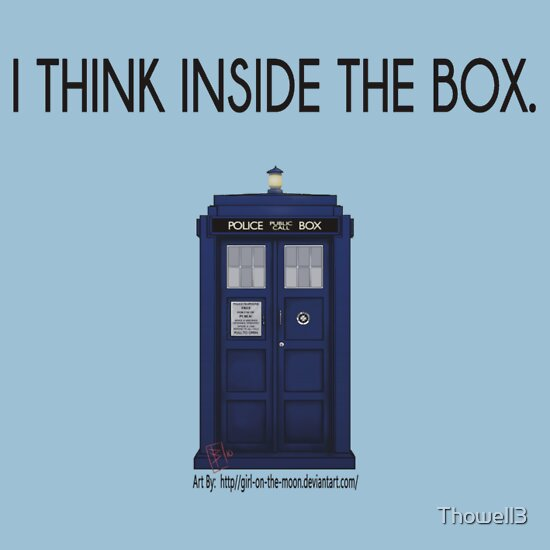 TShirtGifter presents: Think Inside the Box