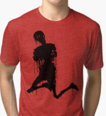 Decaying Zombie 3 Tri-blend T-Shirt