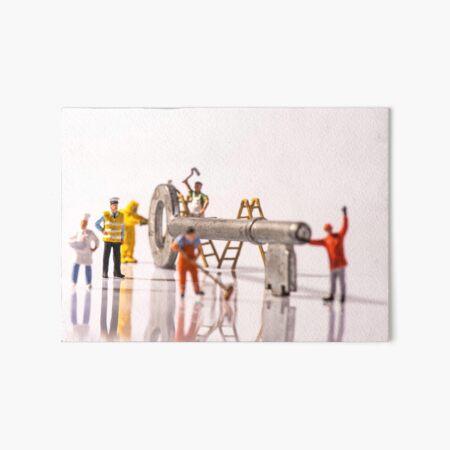 Key Workers Art Board Print