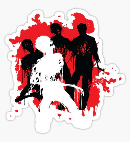 Decaying Zombies Sticker