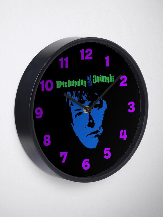 Alternate view of Eric Burdon & The Animals Clock