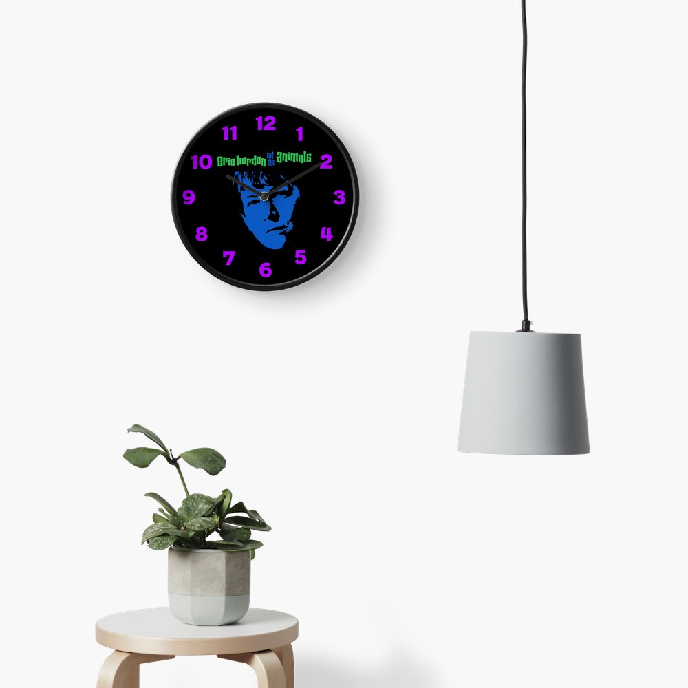 Eric Burdon & The Animals Clock