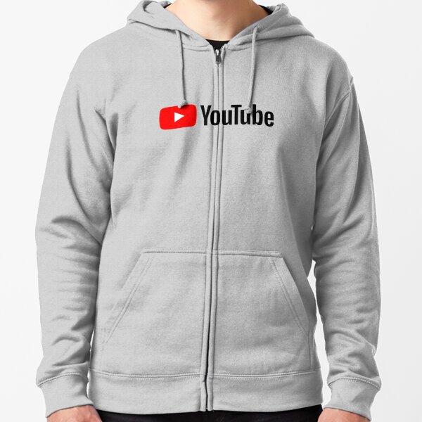 Youtube Veste zippée à capuche