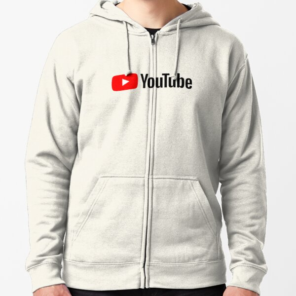 YouTube Zipped Hoodie