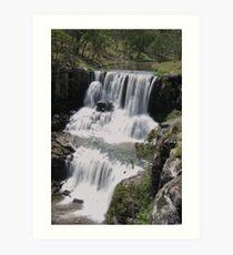 Upper Ebor Falls Art Print