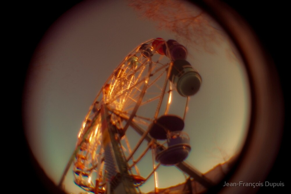 Big wheel by Jean-François Dupuis