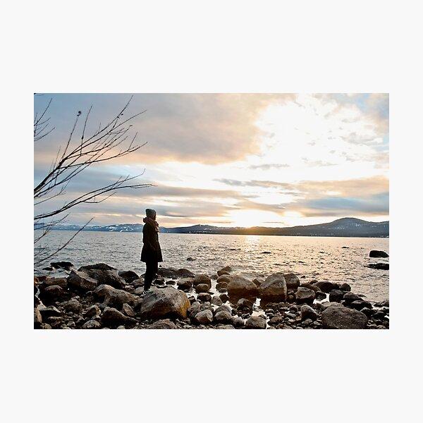 Lake Tahoe Sunset Photographic Print