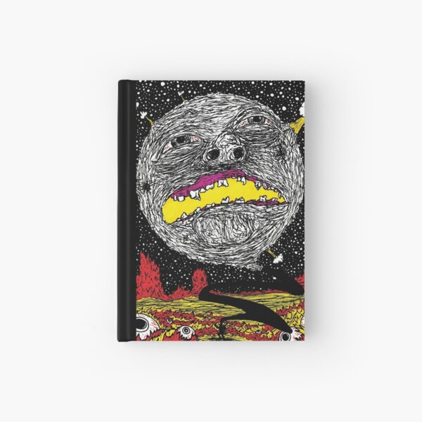 Moon Man Hardcover Journal