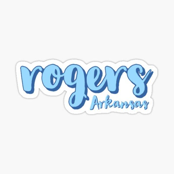 Rogers Arkansas Sticker