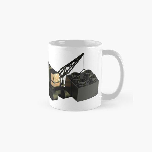 Lego Construction 3D Crane Classic Mug