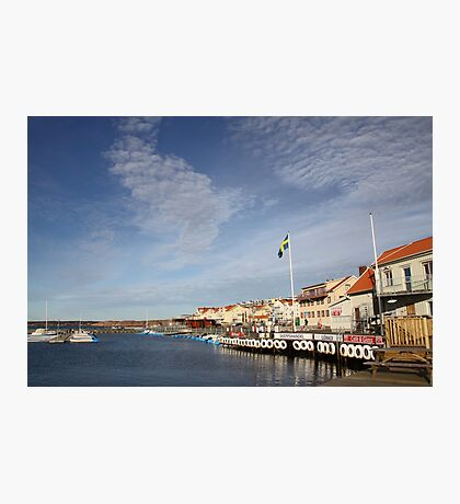 Lysekil harbour, West Sweden Photographic Print