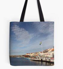 Lysekil harbour, West Sweden Tote Bag